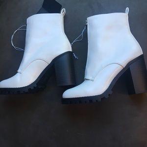 New White Booties